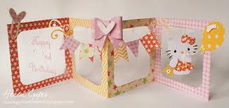 the dining room drawers accordion album hello kitty birthday card