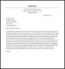 cover letter for security 28 images information security