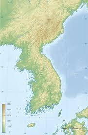 Altitude Map Of Usa by Korean Peninsula Wikipedia