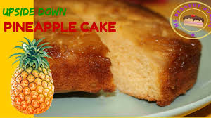 low fat upside down pineapple cake recipe msdessertjunkie youtube