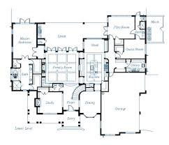 custom house plans interior custom home blueprints house exteriors