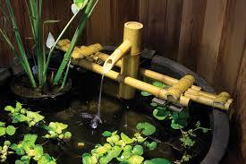 Aquascape Pump Aquascape 78014 Adjustable Pouring Bamboo Fountain W Pump