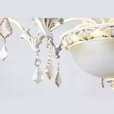 Vintage Crystal Chandeliers Crystal Chandeliers 8 Light Resin Glass Fixture