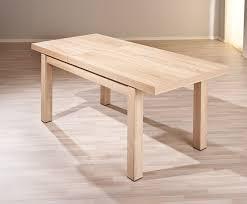 table de cuisine en bois avec rallonge table salle a manger a rallonge tables modernes salle manger