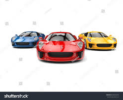 red orange cars awesome sports cars racing red one stock illustration 658590643