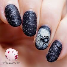 sugar spun spiderweb nail art for halloween spin sugaring and