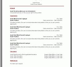 Download Resume Template Microsoft Word Download Resume Template Microsoft Haadyaooverbayresort Com