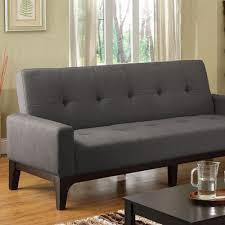 contemporary futon sofa bed laporte contemporary fabric futon sofa