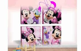 mickey mouse wall decals fabulous minnie art interior watch cool minnie mouse wall art