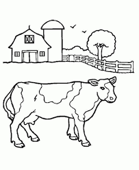 cute farm animal faces coloring page cute cow coloring pages best