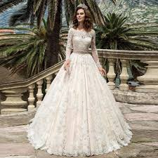 discount new 2017 lace wedding dresses off the shoulder boat