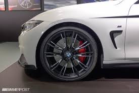 bmw m series rims bmw reveals m performance package for the 4 series hints at