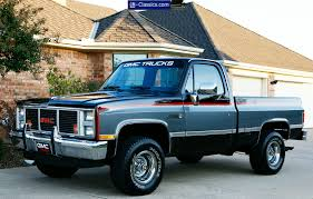 1987 Gmc Half Ton Short Bed 4x4 Pickup This Is What I Would Like