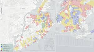 New York Boroughs Map by Interactive Redlining Map Zooms In On America U0027s History Of