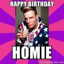 Happy Birthday Meme Creator - happy birthday homie vanilla ice meme generator pinteres