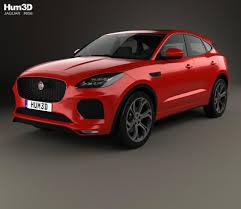 jaguar e pace r dynamic 2017 3d model hum3d
