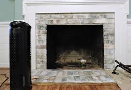 3 easy steps to follow when white washing your fireplace