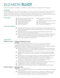 marketing resume template marketing visual resume therpgmovie