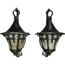 tudor or bungalow style porch lights sconces from