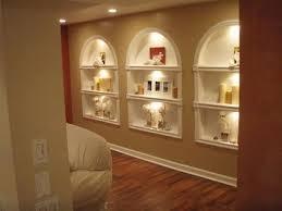 In Wall Shelves by Diy Built In Shelves Bookshelves Of Plasterboard Youtube