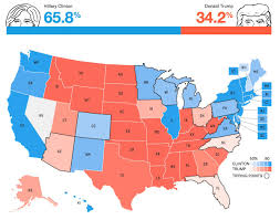 Election Map 2016 by The Electoral Map Theelectoralmap Twitter