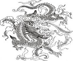 dragon coloring pages for adults with regard to really encourage