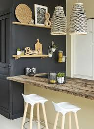 mur noir cuisine 6155 best home déco images on homes dinner