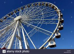 winter big wheel in hyde park stock photo