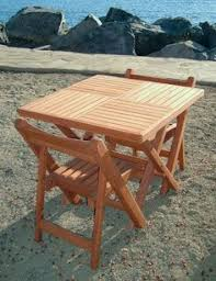 Free Woodworking Plans Folding Picnic Table by Manufactum Robinia Beer Garden Table Bench Craft Brew