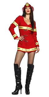 Fireman Halloween Costume Amazon Leg Avenue Women U0027s Firefighter Costume Clothing