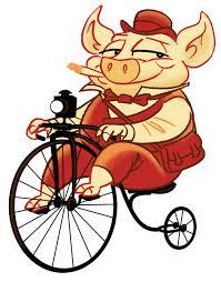 tricycle cartoon character design geo parkin