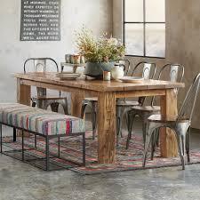 School Dining Room Furniture Reclaimed Wood Table Robert Redford S Sundance Catalog