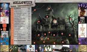 Home Decor Fabric Cheap Halloween House Decoration Youtube Loversiq