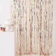 Gold Shimmer Curtains Gold Shimmer Curtain Balloon Tassel Decorations