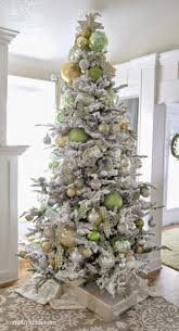 foot prince flock artificial tree amazing