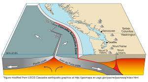 physical map of oregon juan de fuca plate southern cascades wa dnr