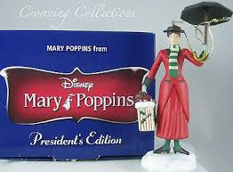 grolier disney poppins president s edition ornament early