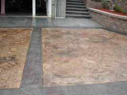 Flagstone Stamped Concrete Pictures by Gs Flatwork Llc Concrete Driveways