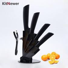 compare prices kitchen knife set online shopping buy low price kitnewer top quality kitchen knife set ceramic