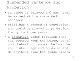 Degree Are Sentenced 1 Chapter 9from Sentencing To Release 2 Introduction Judge May