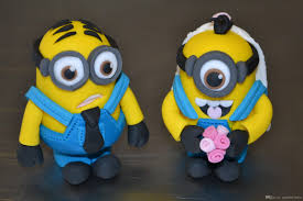 minions cake toppers custom wedding cake toppers and groom minions wedding