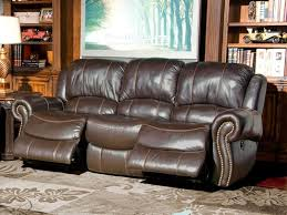 awesome power leather reclining sofa stratus leather power