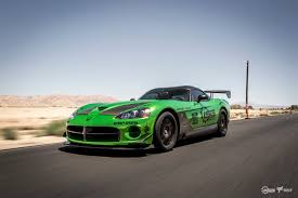 Dodge Viper Green - snakeskin green chrome wrapped viper from the lsg rally to vegas