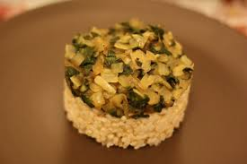 gwyneth paltrow recettes de cuisine une recette de gwyneth paltrow blettes oignons riz complet