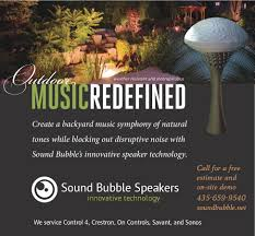 sound bubble outdoor speakers