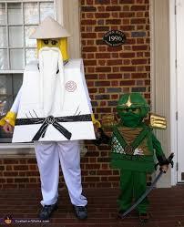 Lego Ninjago Halloween Costumes Ninjago Lloyd Green Ninja Sensei Wu Costume Legos Sons