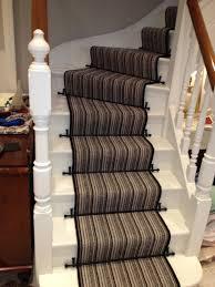 Vintage Stair Rods by Stairway Carpet Runner Ideas Also Elegant Stair Runners Vintage