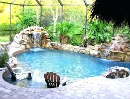 rock waterfalls for pools waterfalls for pool swimming pool designs with waterfalls pool