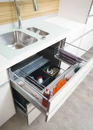 organisation cuisine paniers coulissants pour meubles cuisine 2 rangement cuisine sur