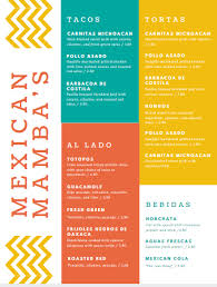menu template top 25 restaurant menu templates